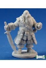 Reaper Miniatures Bones: Barnabus Frost, Pirate Captain