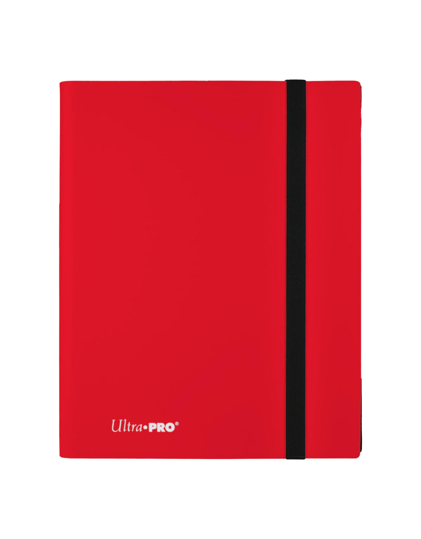 Ultra Pro Binder: PRO 9-Pocket Eclipse- Apple Red
