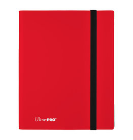 Ultra Pro Binder: PRO 9-Pocket Eclipse- Apple Red