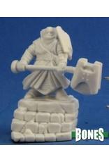 Reaper Miniatures Bones: Male Thunderknight