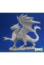 Reaper Miniatures Bones: Silver Dragon