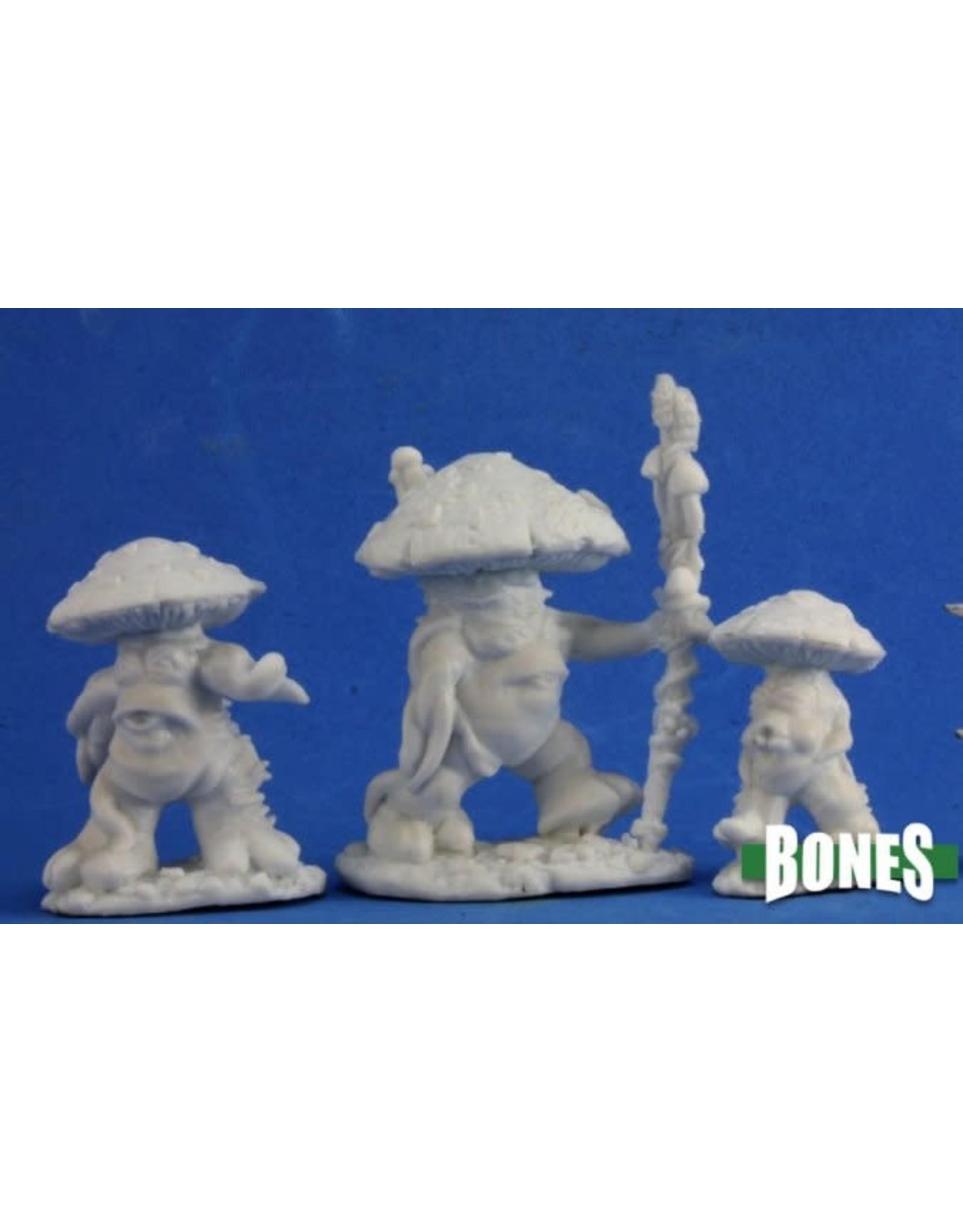 Reaper Miniatures Bones: Mushroom Men (3)