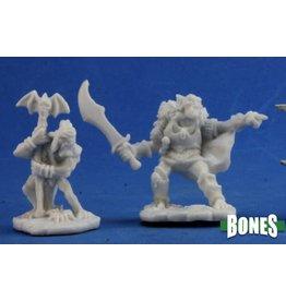 Reaper Miniatures Bones: Goblin Command (2)