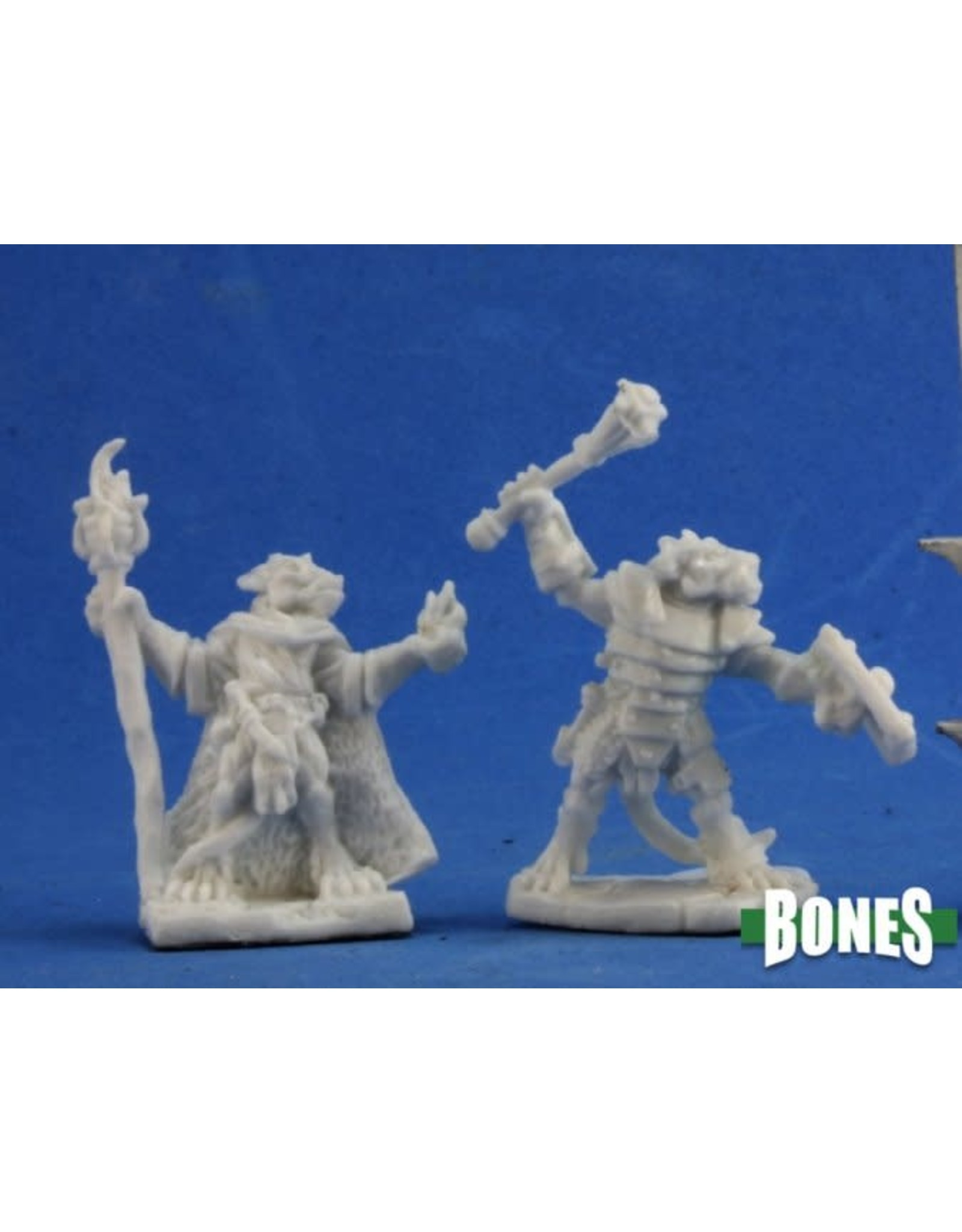 Reaper Miniatures Bones: Kobold Leaders (2) (spure)