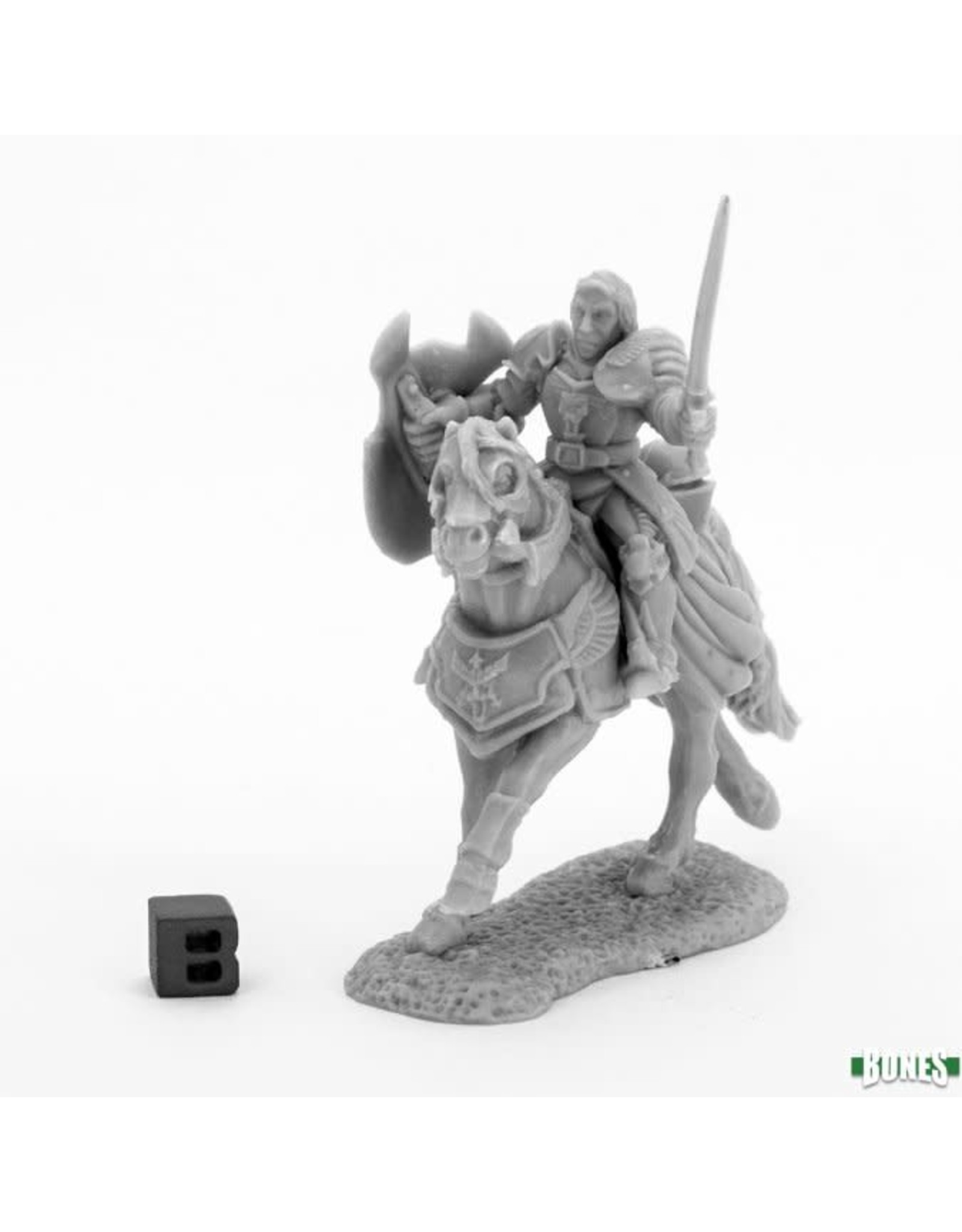 Reaper Miniatures Bones: Sir Daniel Mounted Crusader