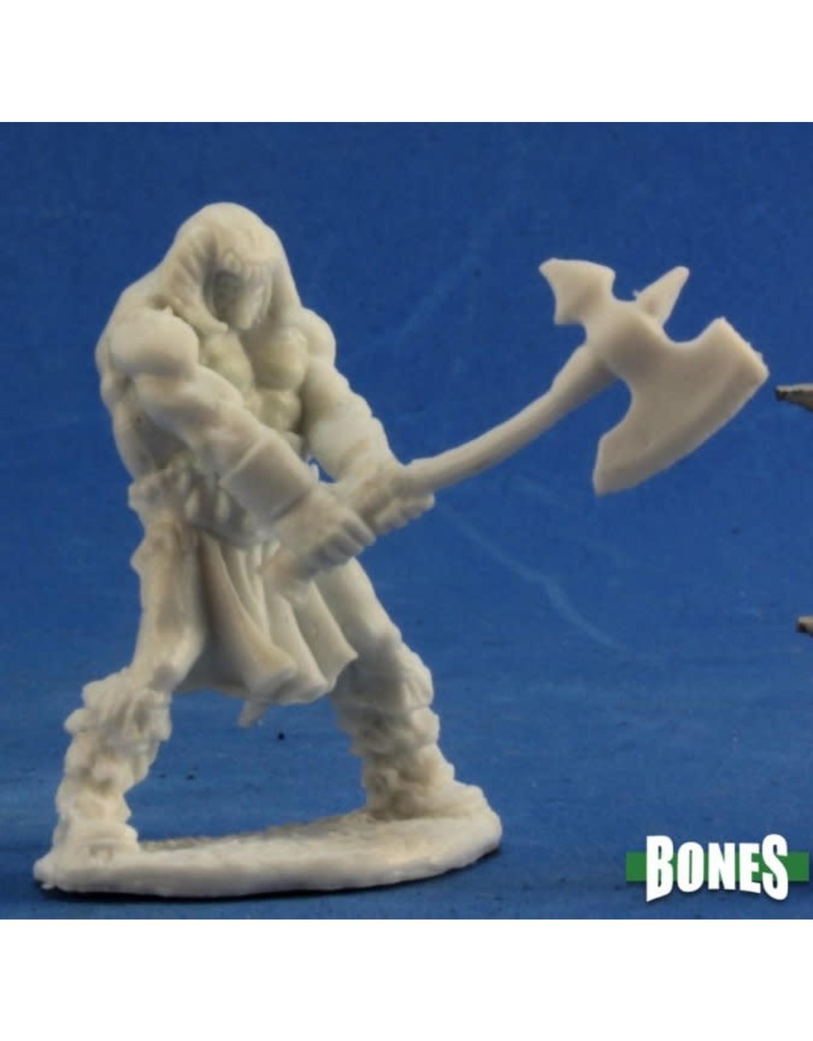 Reaper Miniatures Bones: Cuth Wolfson Barbarian