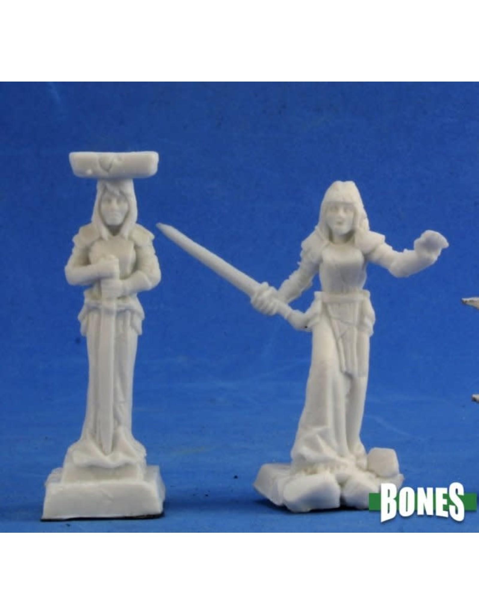 Reaper Miniatures Bones: Caryatid Columns (2)