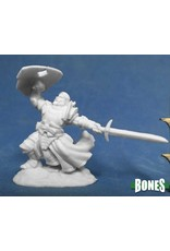 Reaper Miniatures Bones: Sir Rathan Kranzhel Human Fighter