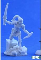 Reaper Miniatures Bones: Lanelle Half-elf Rogue