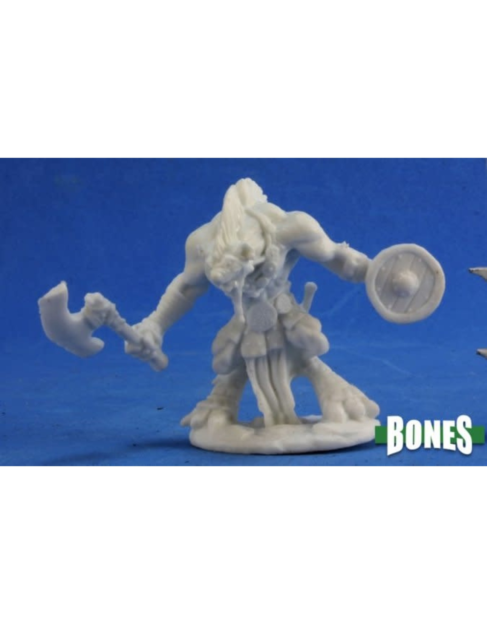 Reaper Miniatures Bones: Gnoll Warrior (Battleaxe)