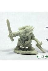 Reaper Miniatures Bones: Durgam Deepmug, Dwarf Hero