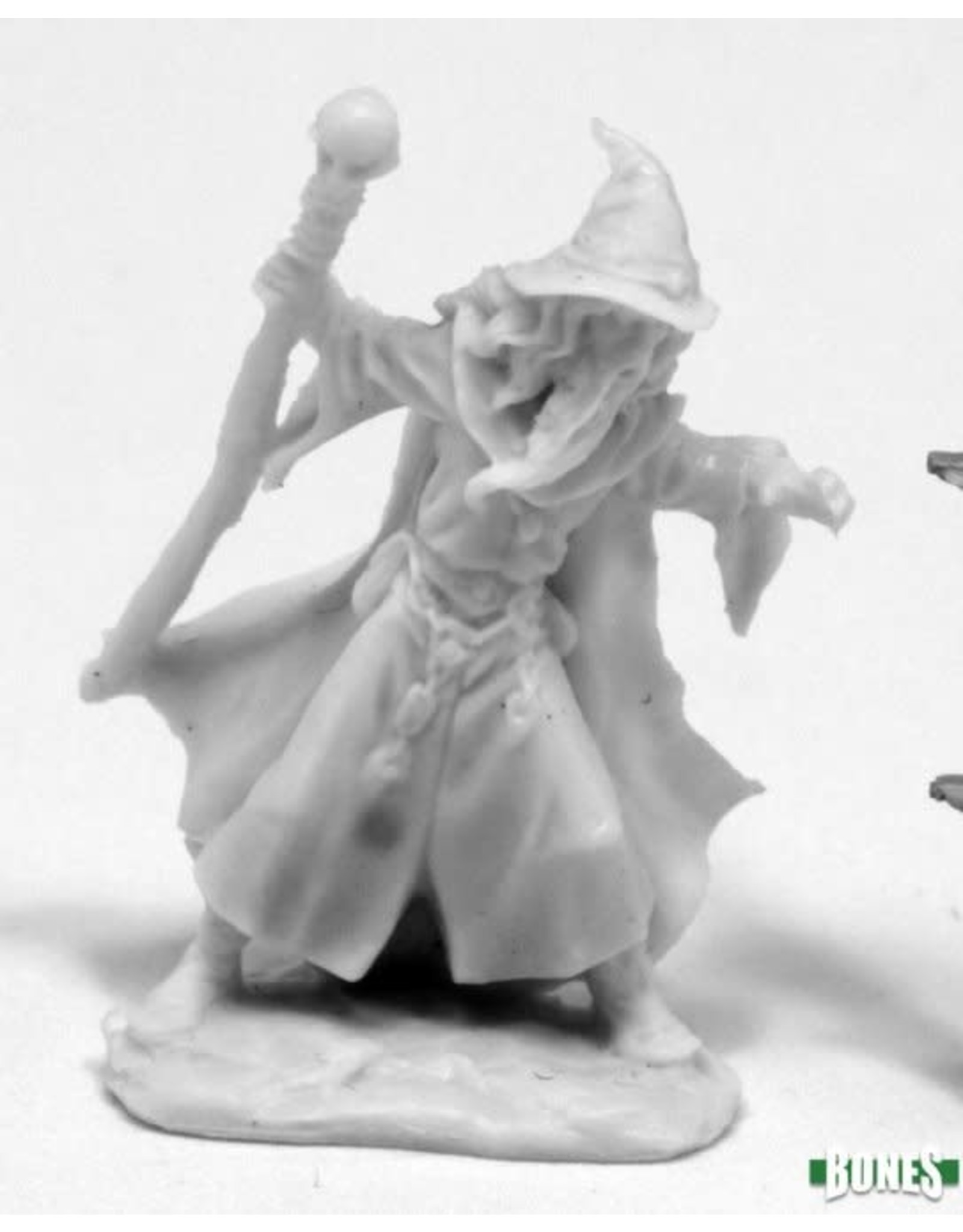 Reaper Miniatures Bones: Lendil Blackroot, Wizard
