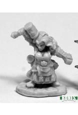 Reaper Miniatures Bones: Margara, Female Dwarf Cleric