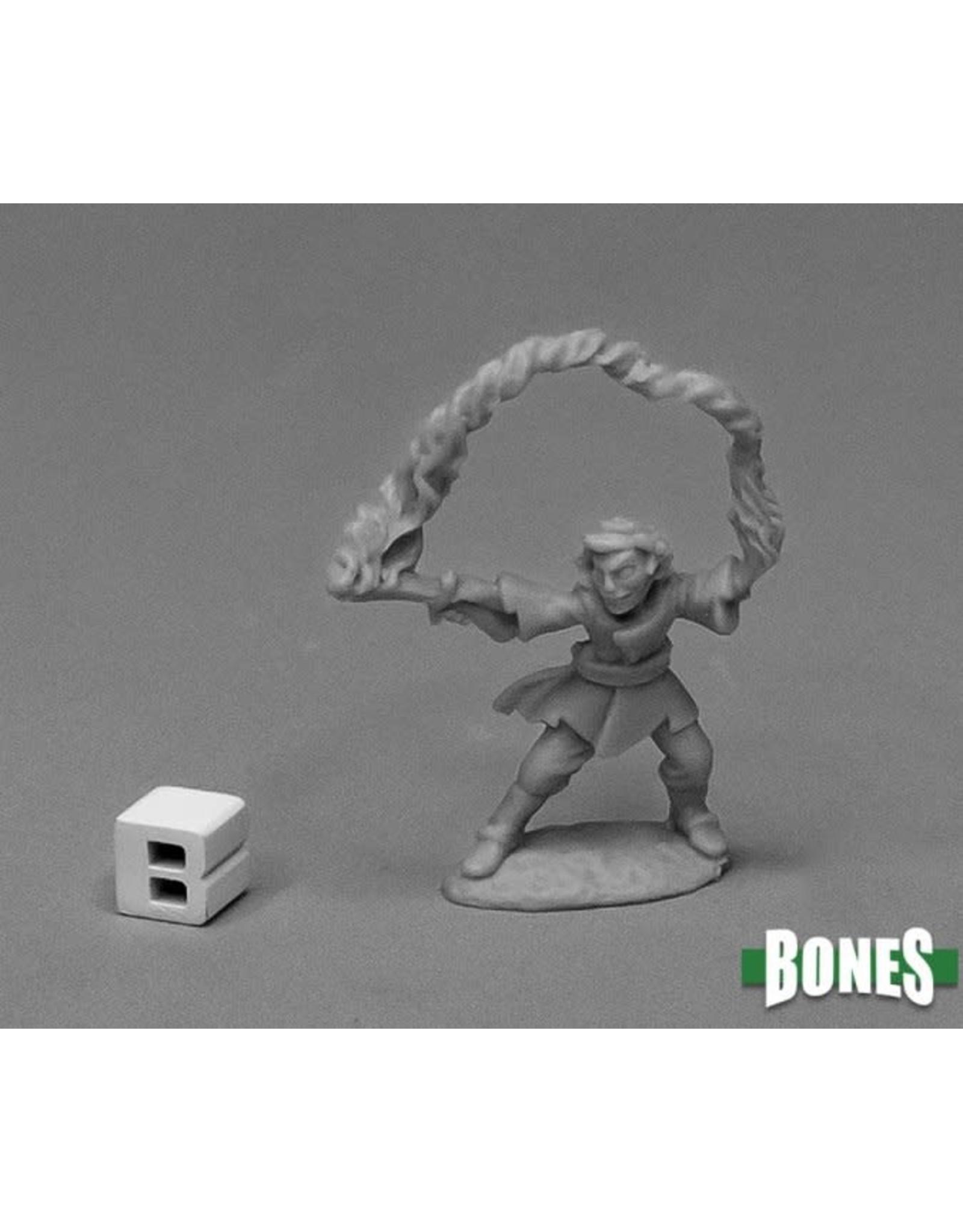Reaper Miniatures Bones: Corim, the Kestrel, Gnome Wizard