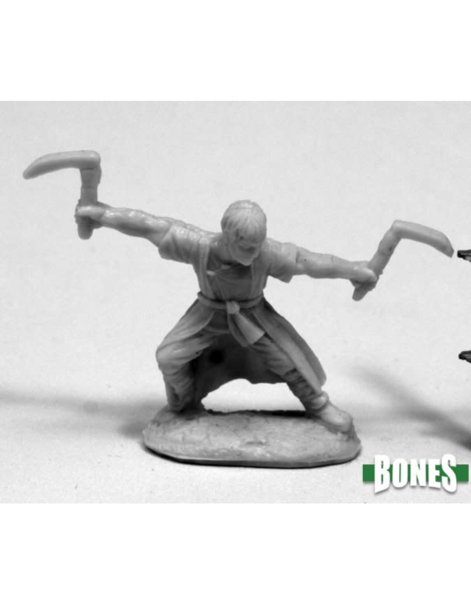Reaper Miniatures Bones: Jade Tiger, Monk