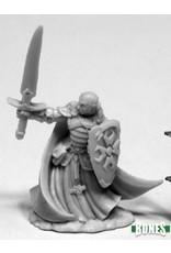 Reaper Miniatures Bones: Malcolm, Templar Lightbringer