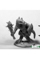 Reaper Miniatures Bones: Lizardman Club & Shield