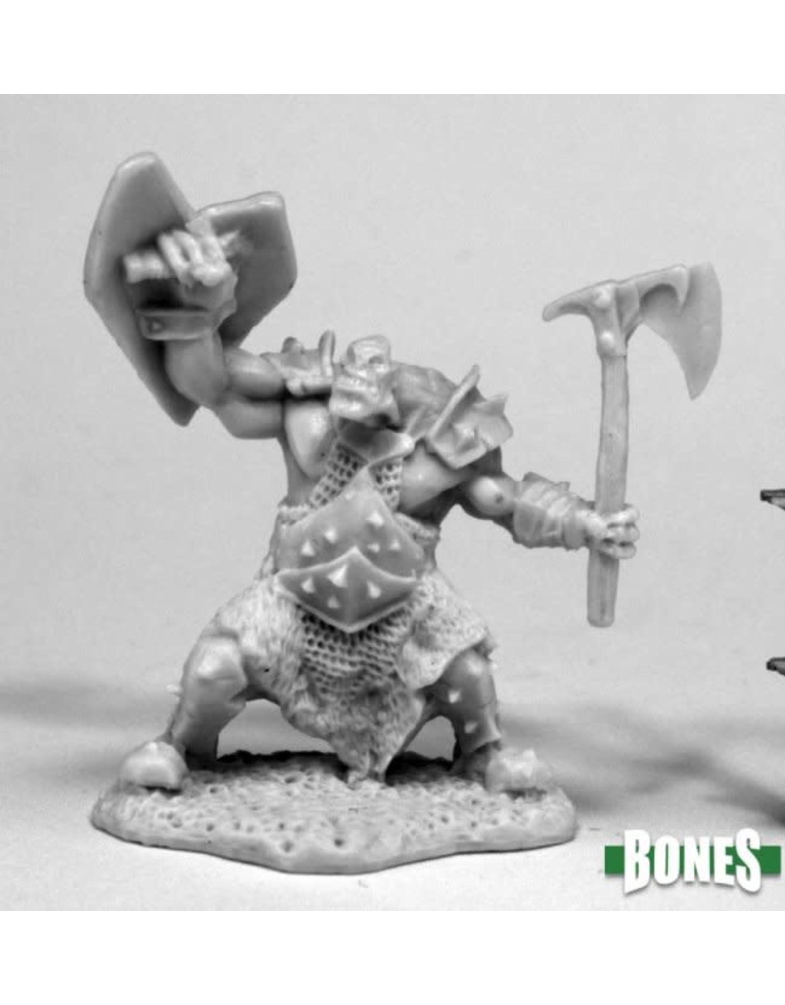 Reaper Miniatures Bones: Orc Slayer (Axe & Shield)