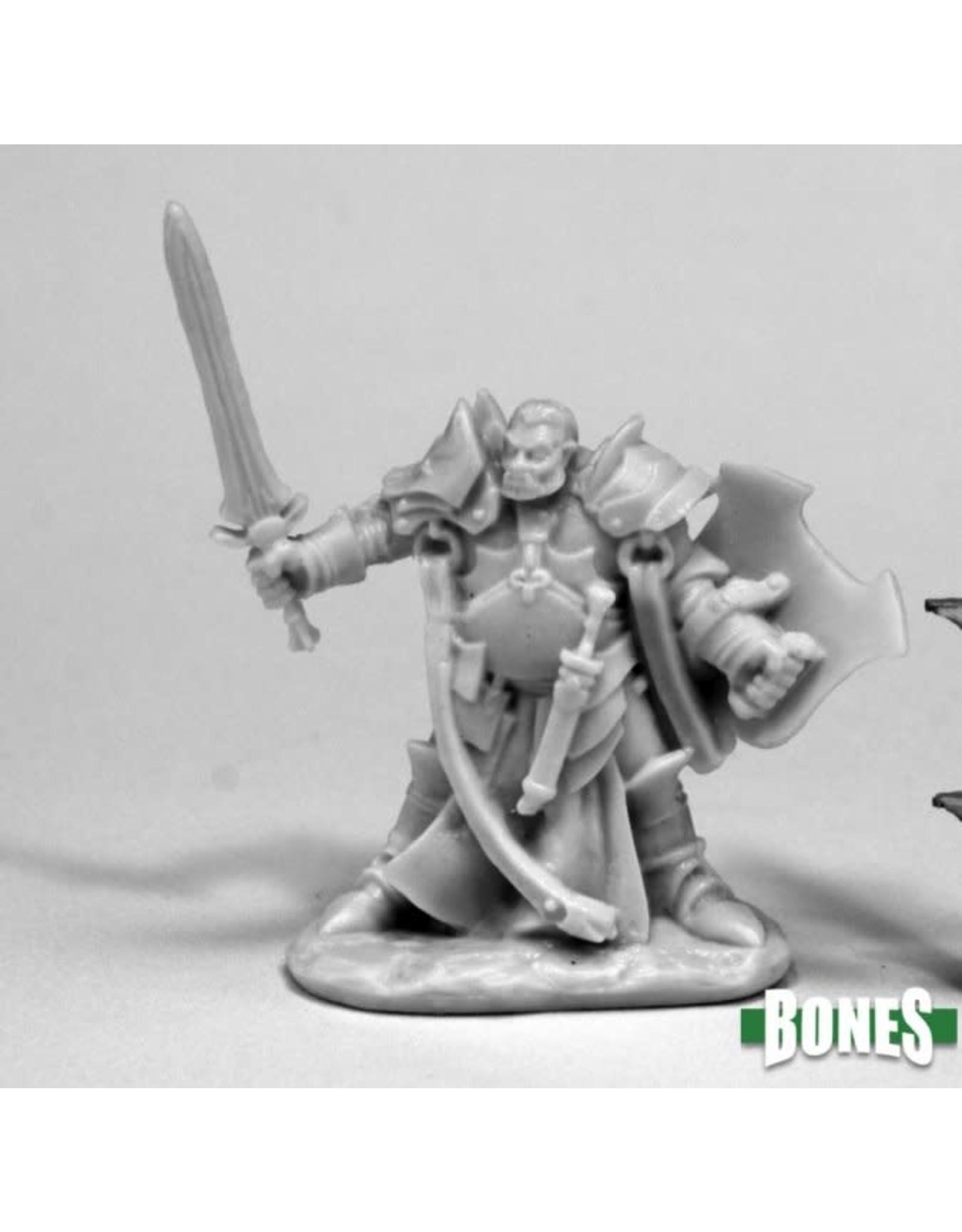 Reaper Miniatures Bones Jurden, Half Orc Paladin
