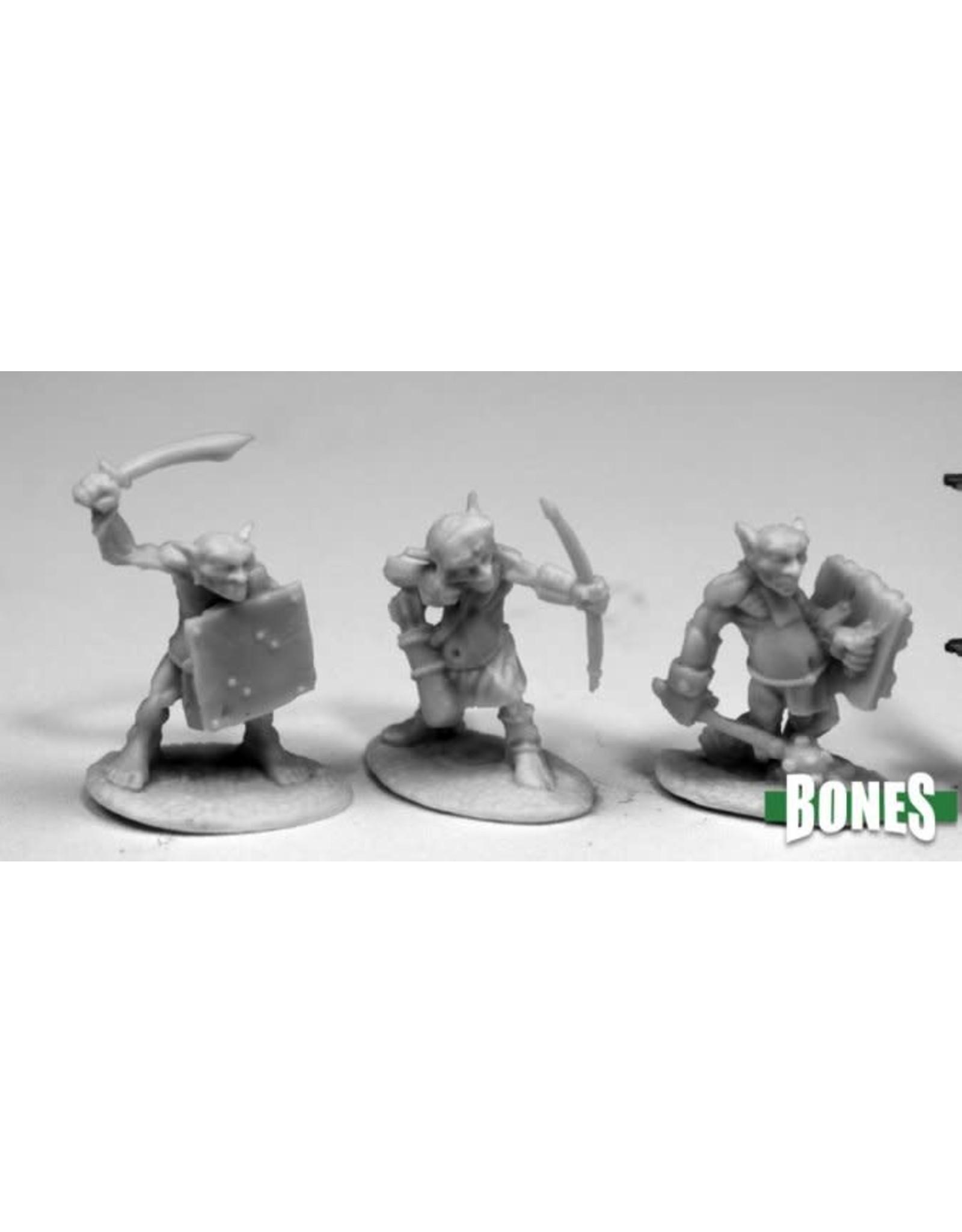 Reaper Miniatures Bones Goblin Skirmishers (6)