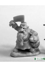 Reaper Miniatures Bones:   Dwarf Butcher