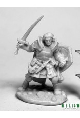 Reaper Miniatures Bones Rheagar, Male Fighter