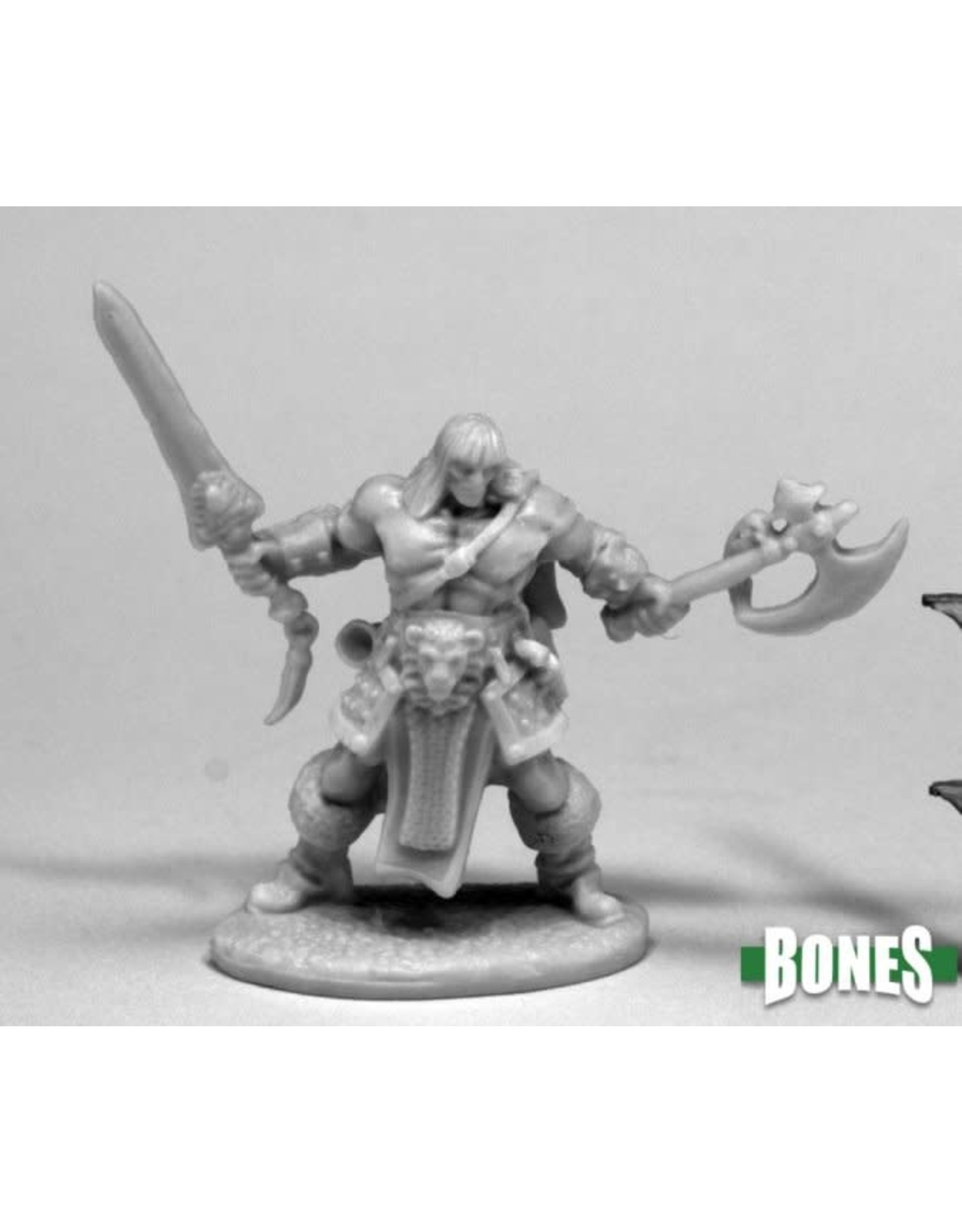 Reaper Miniatures Bones: Brand Oathblood, Barbarian