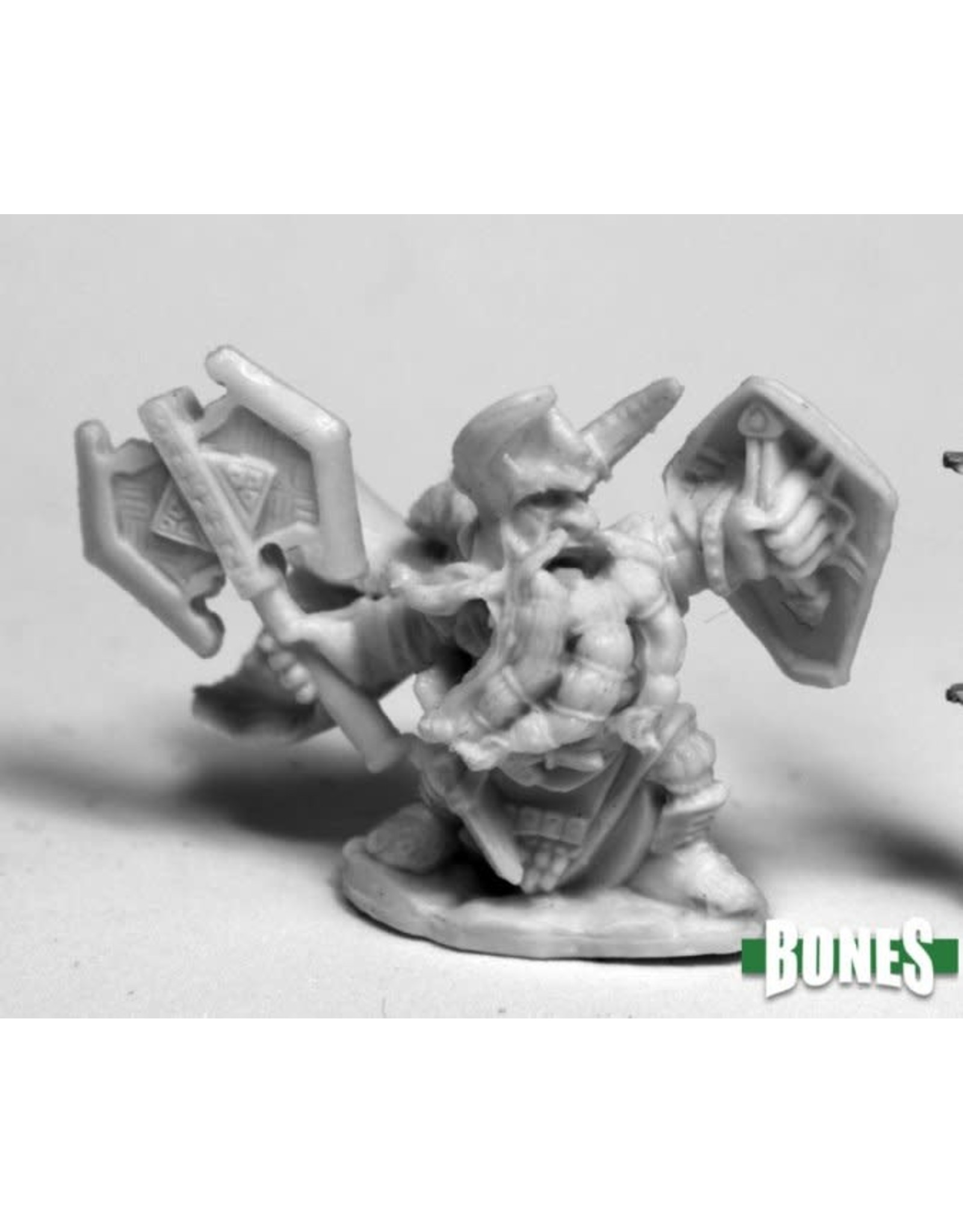 Reaper Miniatures Bones King Axehelm of Kragmarr