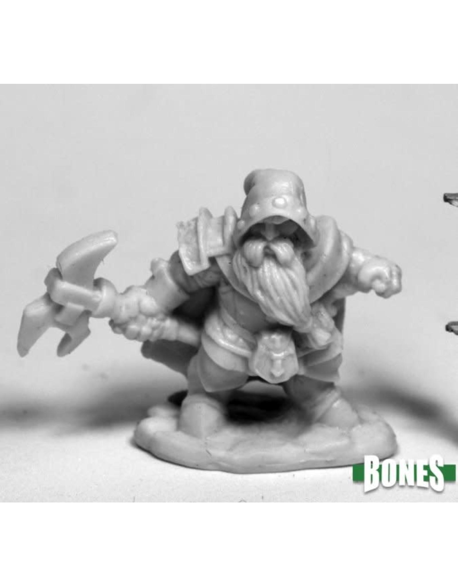 Reaper Miniatures Bones Durok, Dwarf Ranger