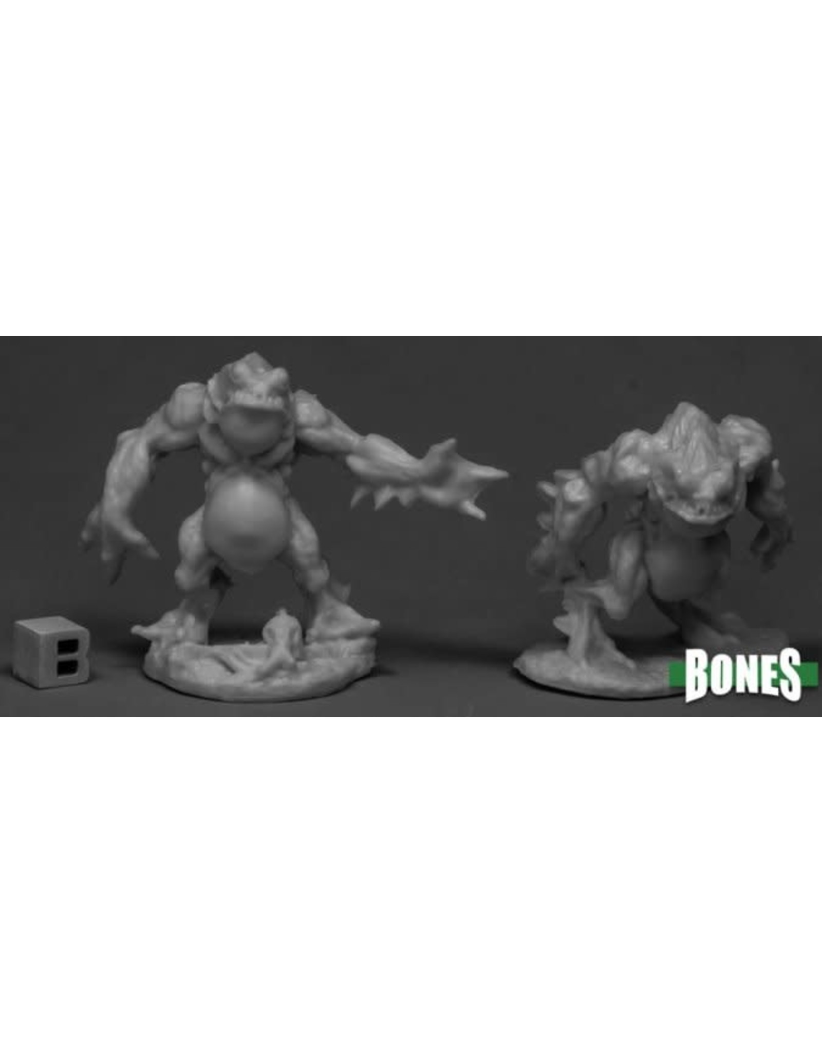 Reaper Miniatures Bones Deep Ones Warriors (2)