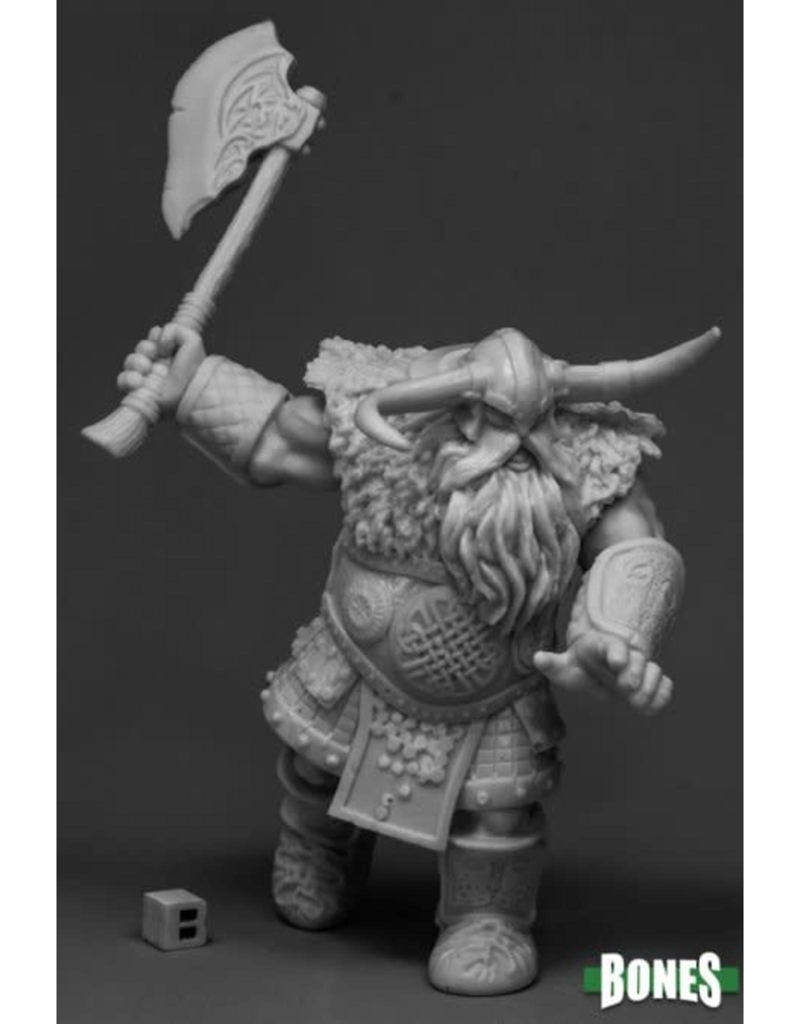 Reaper Miniatures Bones Frost Giant Warrior (1H Axe)