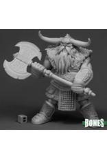 Reaper Miniatures Bones Frost Giant Bodyguard (2H Axe)
