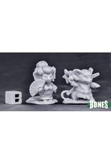 Reaper Miniatures Bones Easter Mouslings (2)