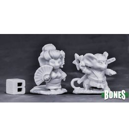 Reaper Miniatures Bones Easter Mouslings (2)