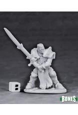 Reaper Miniatures Bones Crusader Justifier (Greatsword)