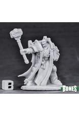 Reaper Miniatures Bones Crusader Ardent Hammer