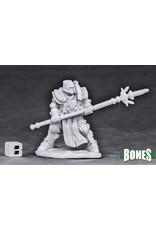 Reaper Miniatures Bones Crusader Defender (spear)