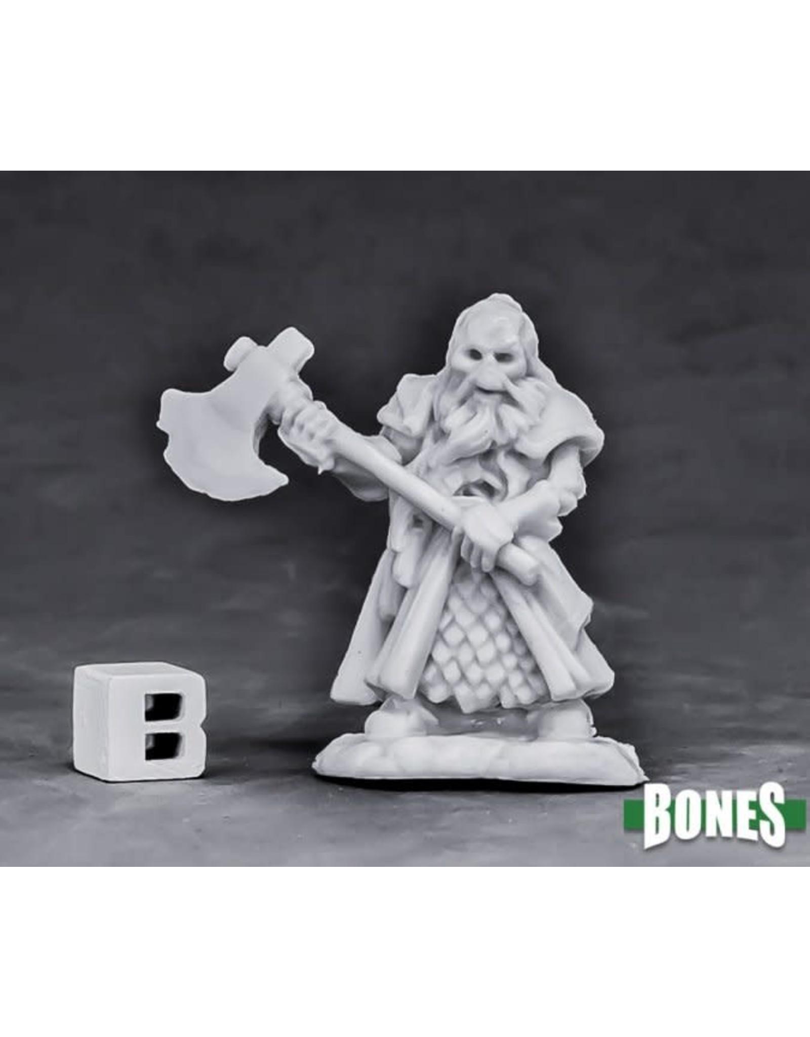 Reaper Miniatures Bones Undead Dwarf Fighter