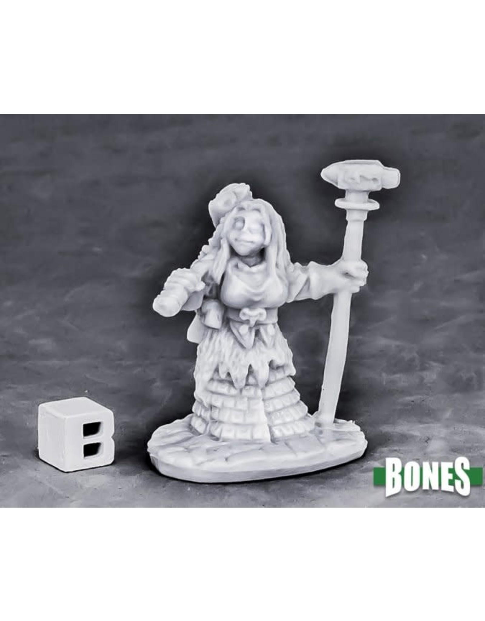Reaper Miniatures Bones Dwarf Forge Priestess