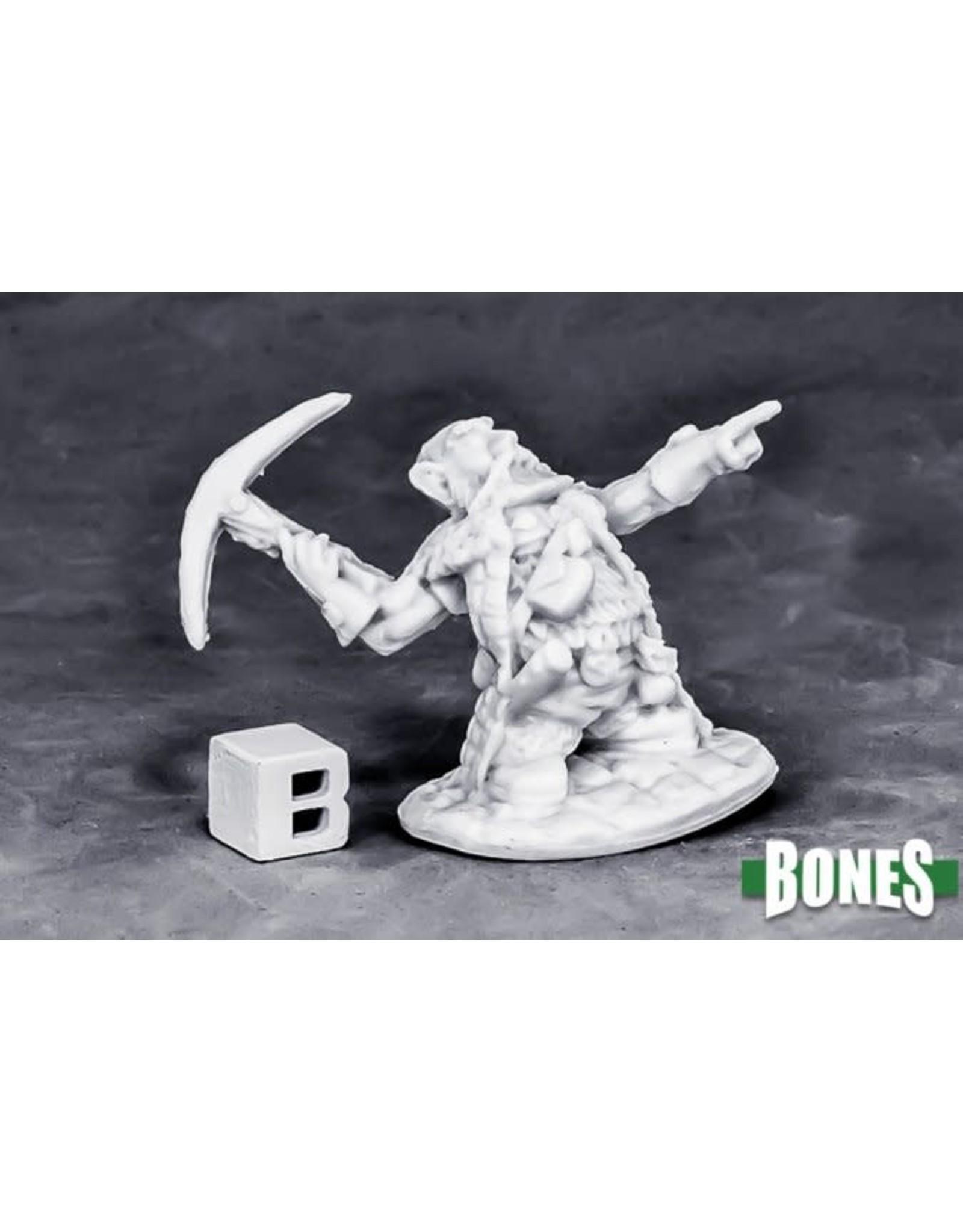 Reaper Miniatures Bones  Dwarf Master Of The Hunt