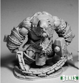 Reaper Miniatures Bones: Fire Giant Jailor (HUGE)