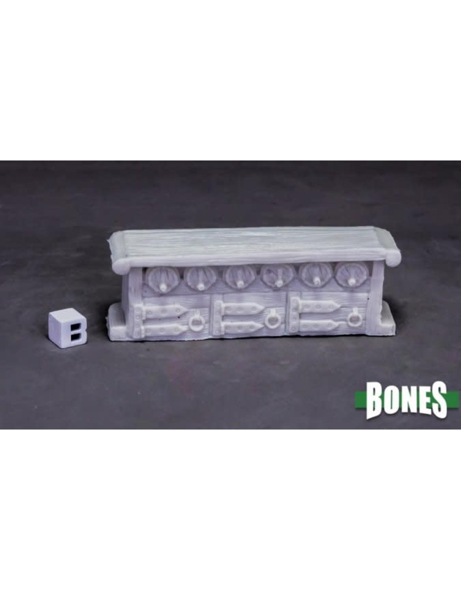 Reaper Miniatures Bones Dungeon Dressing: Bar