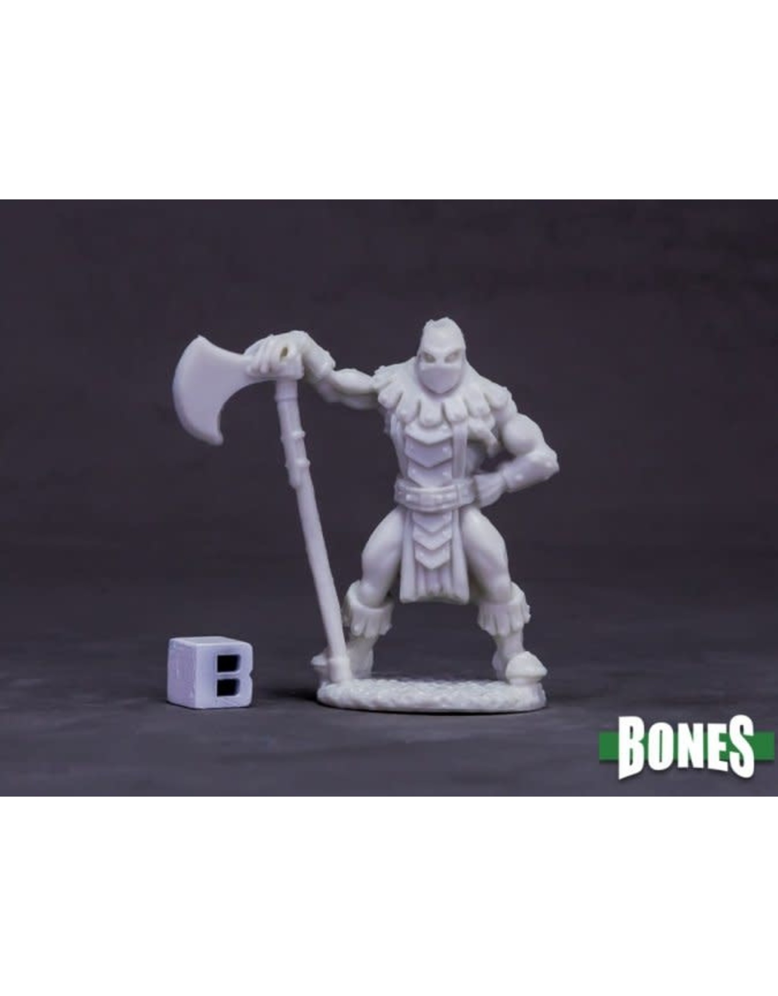 Reaper Miniatures Bones Logar the Executioner