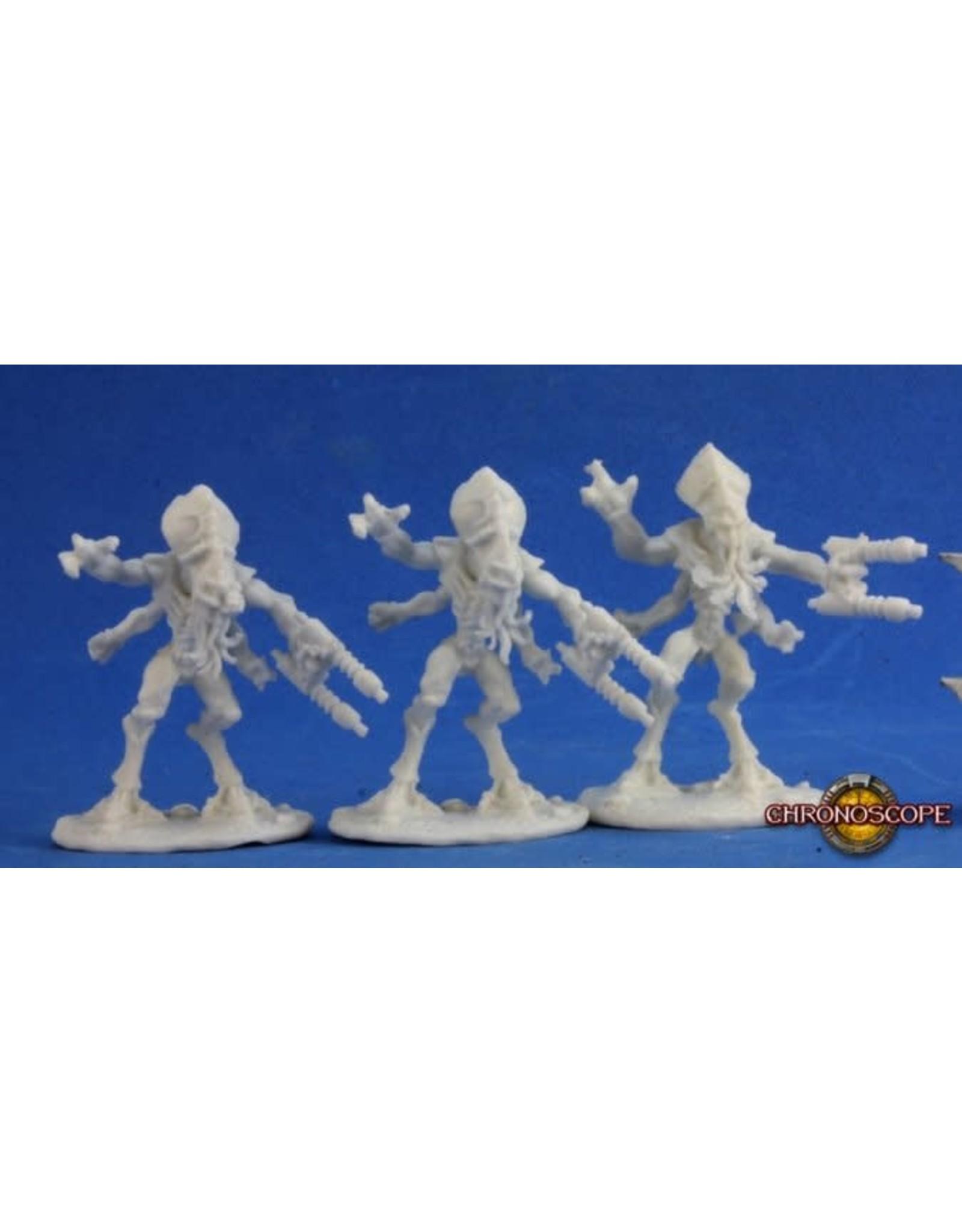 Reaper Miniatures Bones: Kulathi Invaders Left Handed (3)