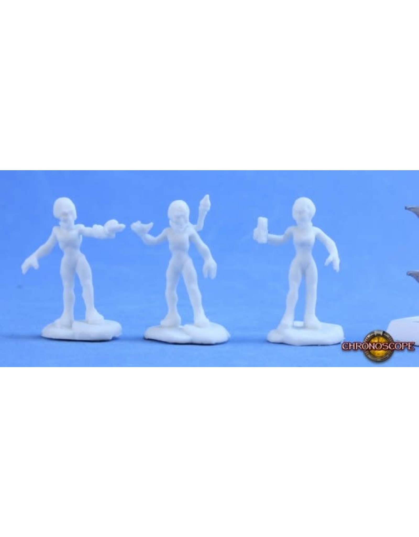 Reaper Miniatures Bones: Gray Alien Scientist Sprue
