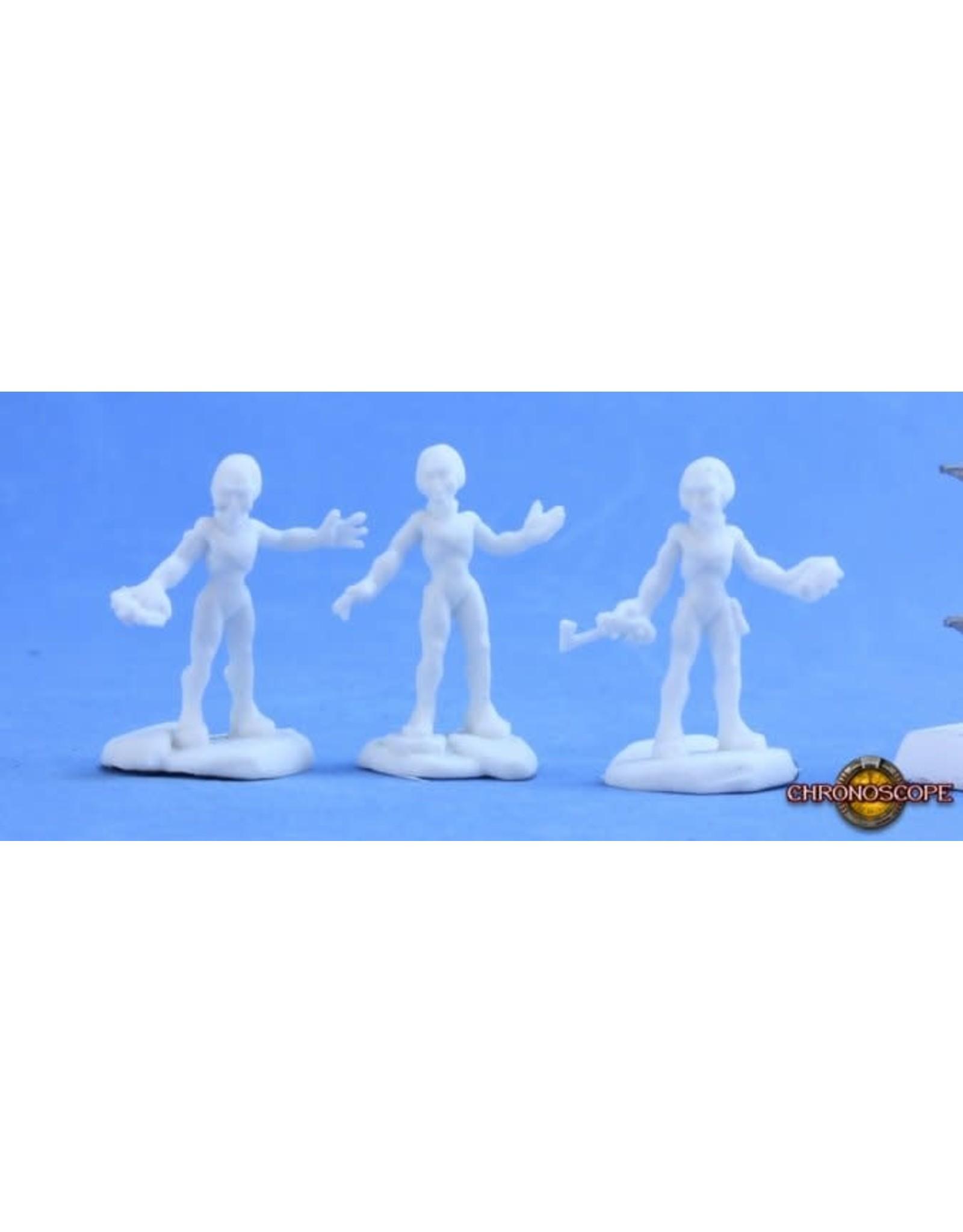 Reaper Miniatures Bones: Gray Alien Warriors