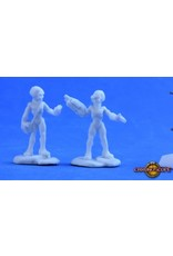 Reaper Miniatures Bones: Gray Alien Leaders