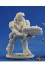 Reaper Miniatures Bones: Aztec IMEF Trooper
