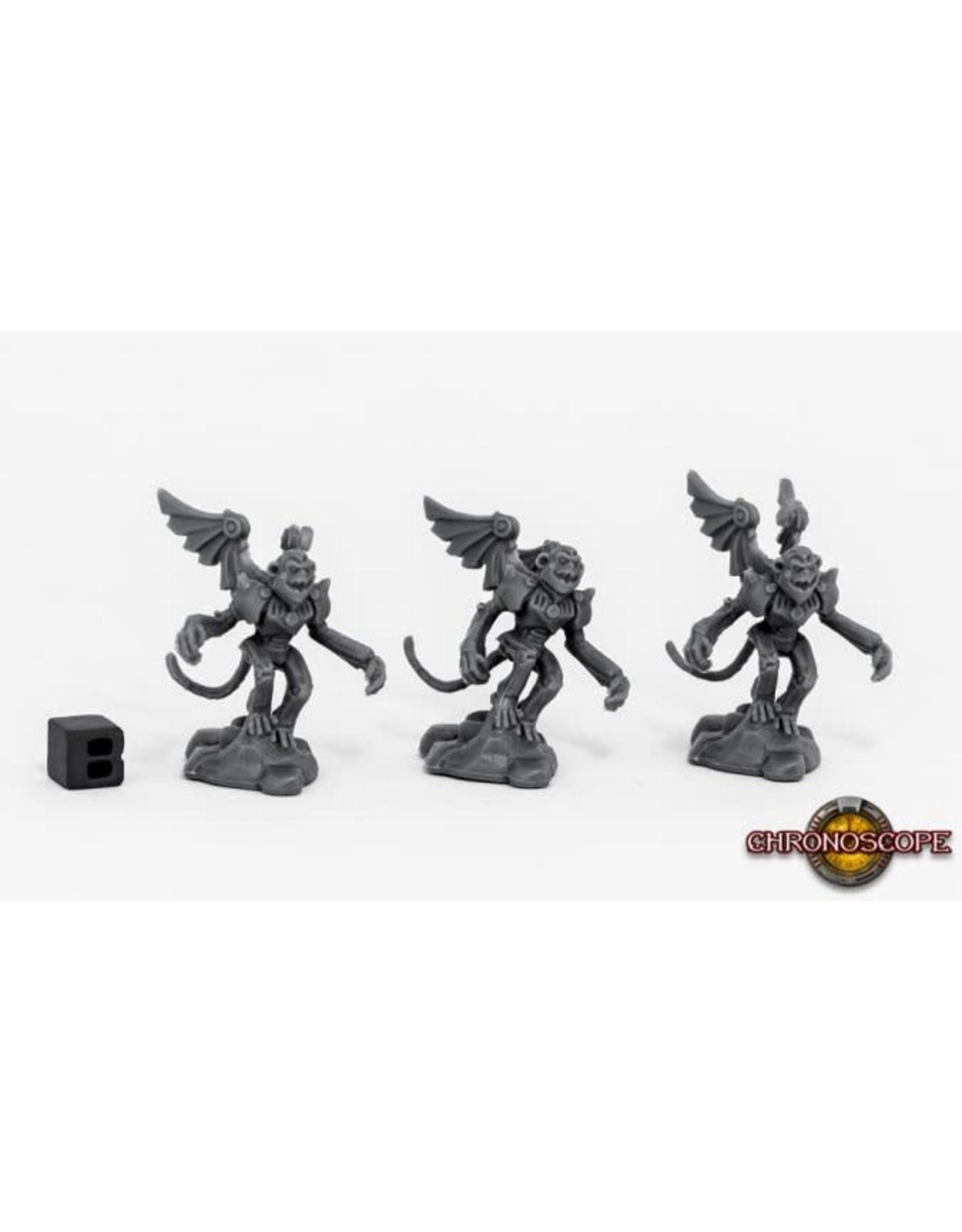 Reaper Miniatures Bones WWWOz Winged Monkeys (3)