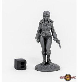 Reaper Miniatures Bones Pulp Era Female Pilot